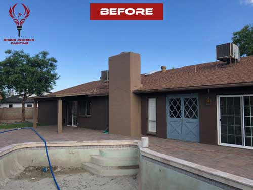 painting contractor Scottsdale before and after photo 3
