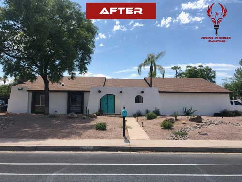 painting contractor Scottsdale before and after photo 8